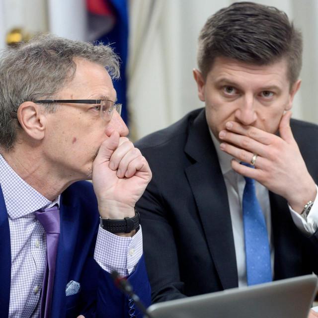 Boris Vujčić i Zdravko Marić