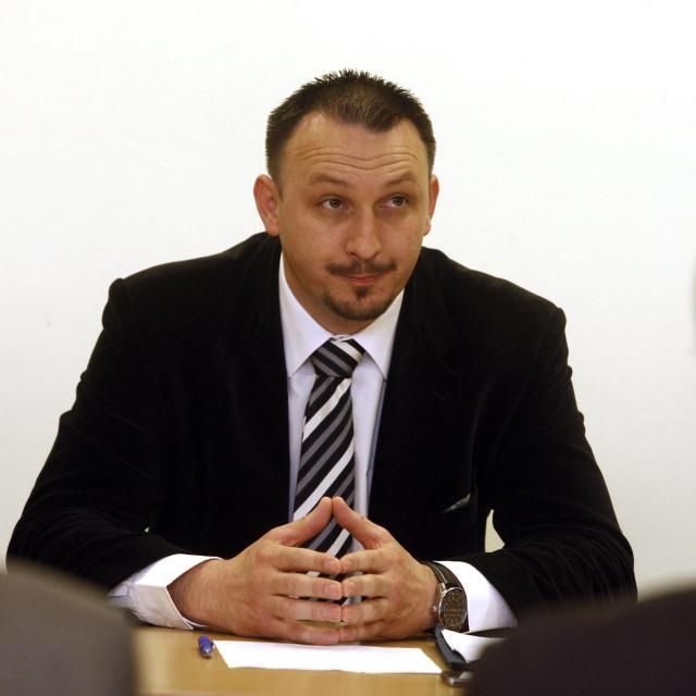 Siniša Jenkač, gradonačelnik Novog Marofa