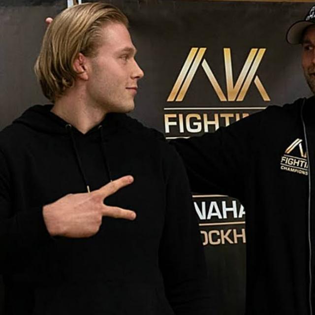 Anton Turkalj i Alexander Gustaffson