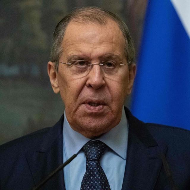 Sergej Lavrov, ruski šef diplomacije