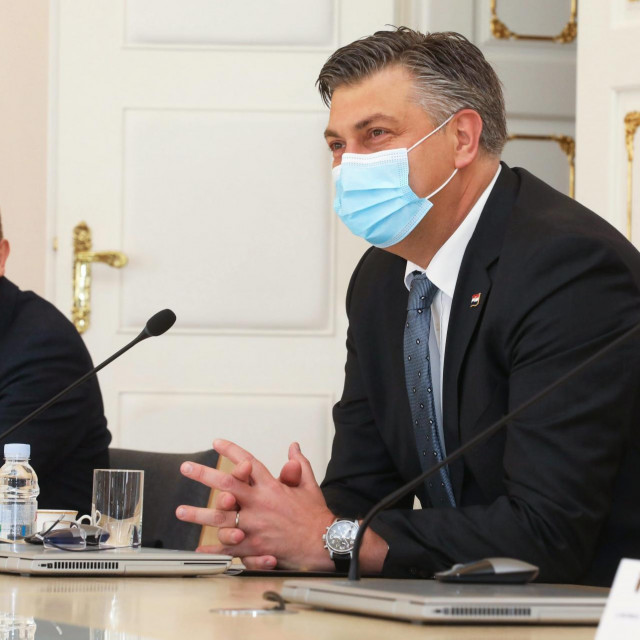 Andrej Plenković, Zdravko Marić