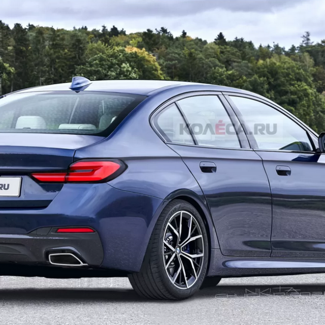 Render BMW Serija 5