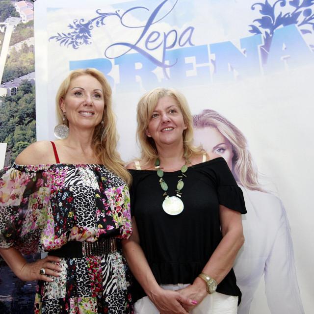 Marina Tucaković s Lepom Brenom<br />