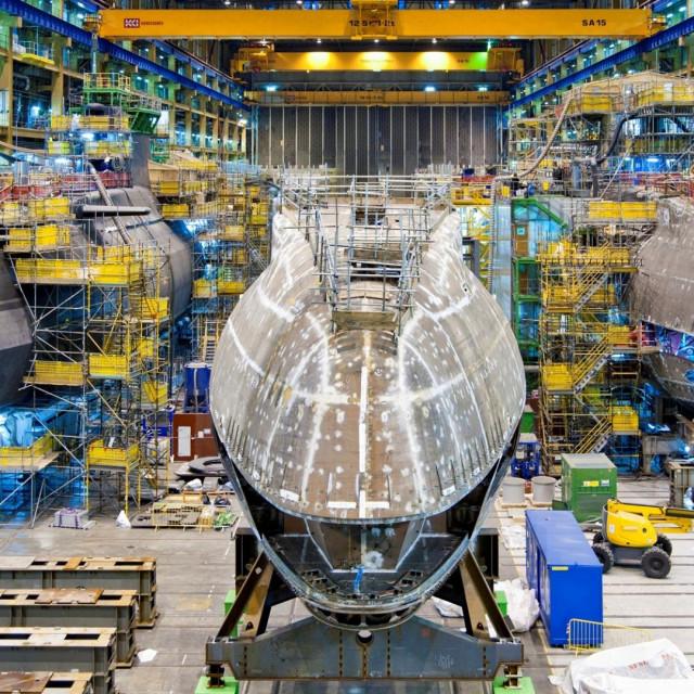 Britanske nuklearne podmornice klase 'Astute': Anson, Artful i Audacious