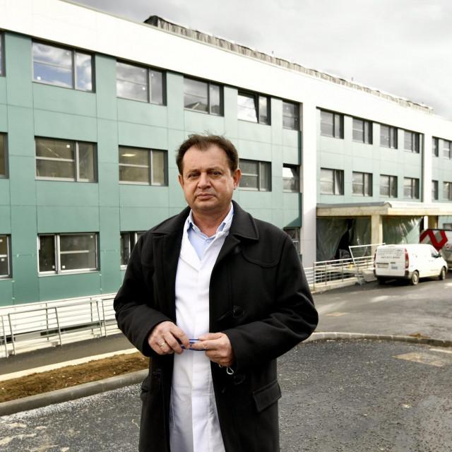 Opca bolnica Dr. Ivo Pedisic u Sisku, Tomislav Dujmenovic