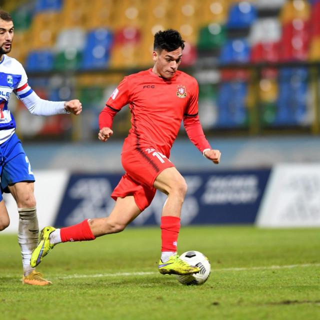Josip Mitrović je bivši igrač Rijeke, a sada nosi dres Gorice