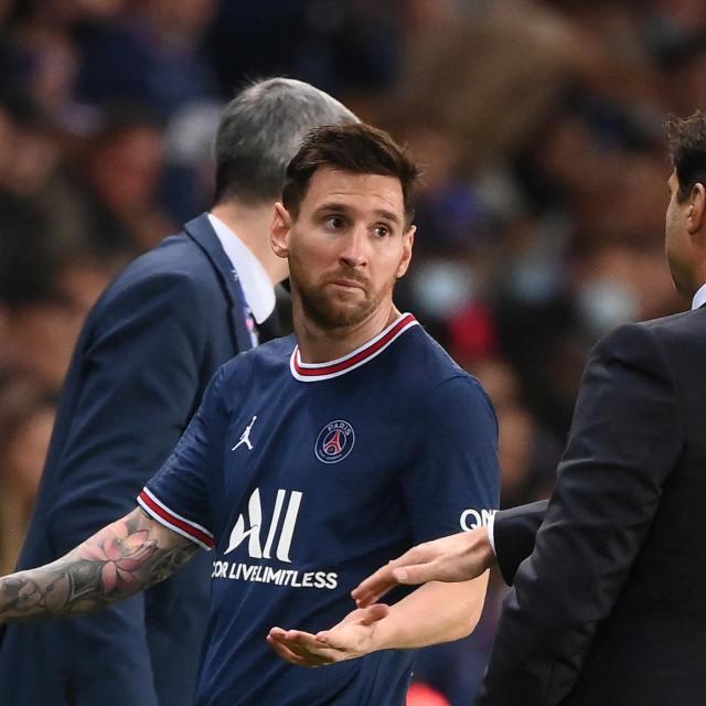 Lionel Messi i Mauricio Pochettino