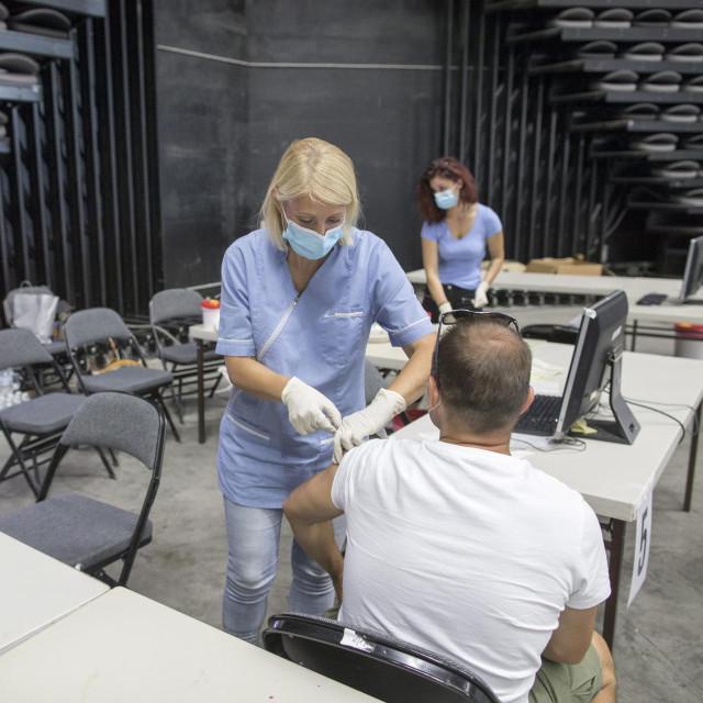 Cijepljenje u Splitu