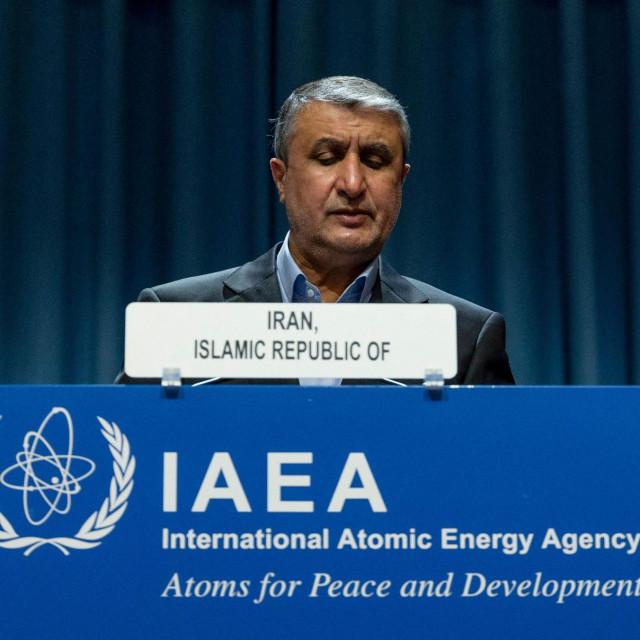 Čelnik iranske atomske organizacije Mohammad Eslami