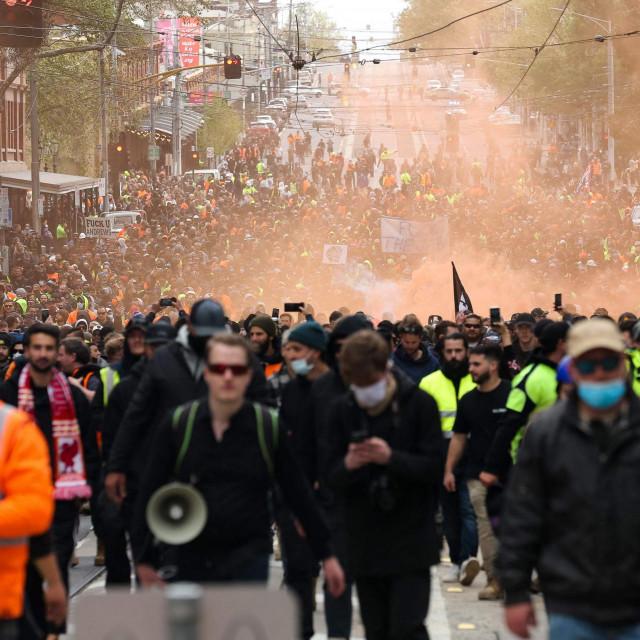 Prosvjed u Australiji