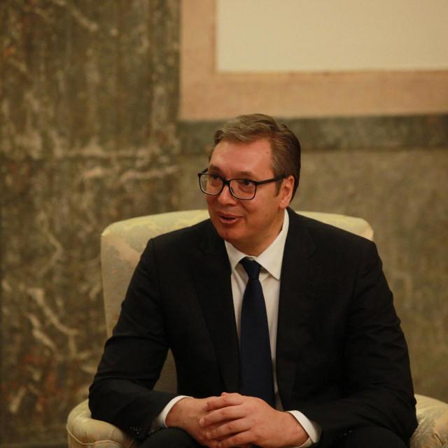 Srbijanski predsjednik Aleksandar Vučić