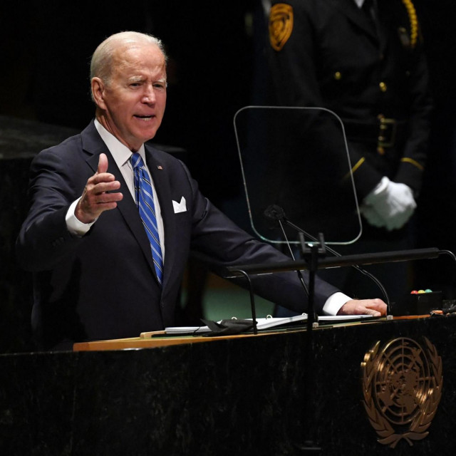 Američki predsjednik Joe Biden obratio se na Skupštini UN-a