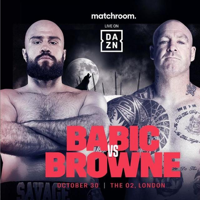Alen Babić vs Lucas Browne