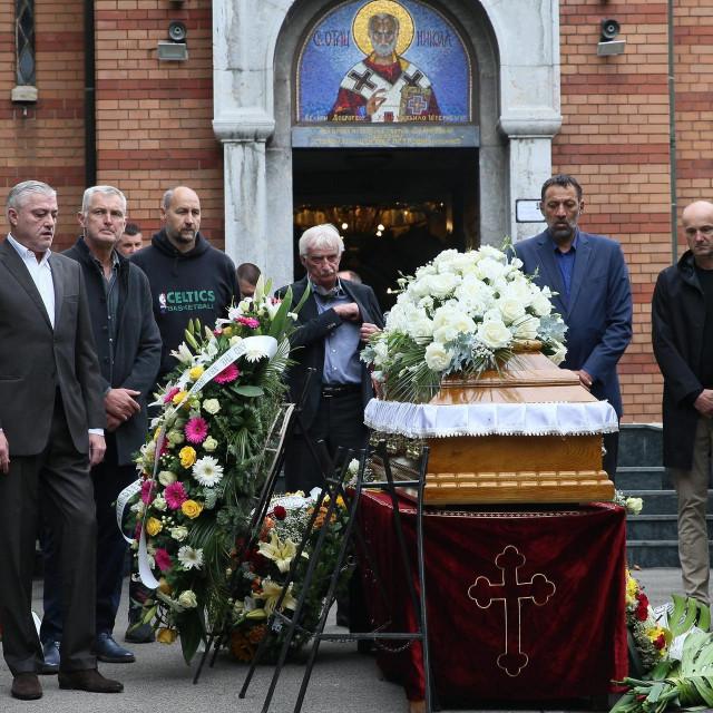 Pogreb Dušana Ivkovića