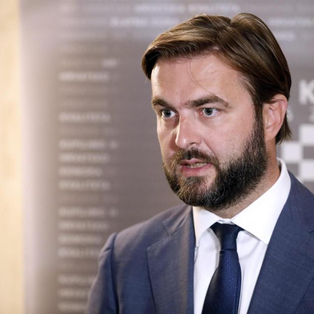 Ministar gospodarstva Tomislav Ćorić