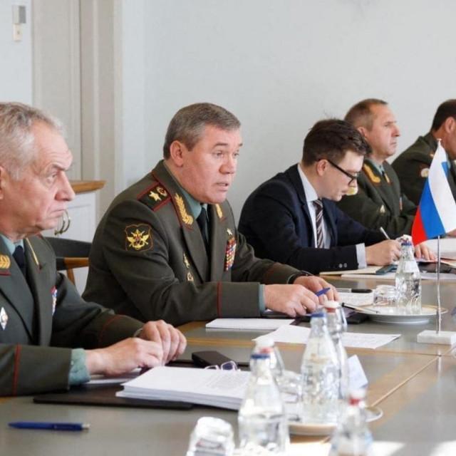Sastanak vojnih čelnika Rusije i SAD-a