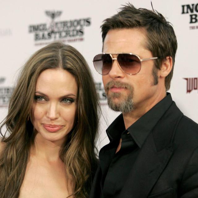 Angelina Jolie i Brad Pitt<br />