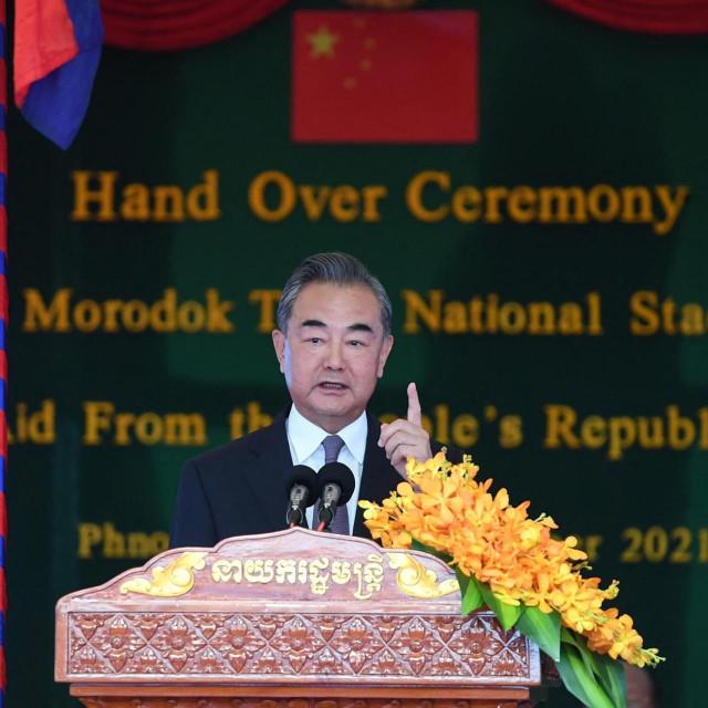 Kineski ministar vanjskih poslova Wang Yi