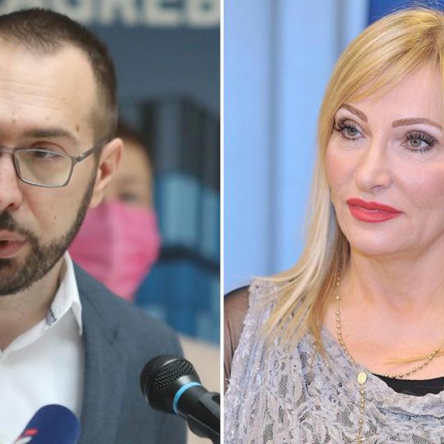 Tomislav Tomašević i Gordana Buljan Flander
