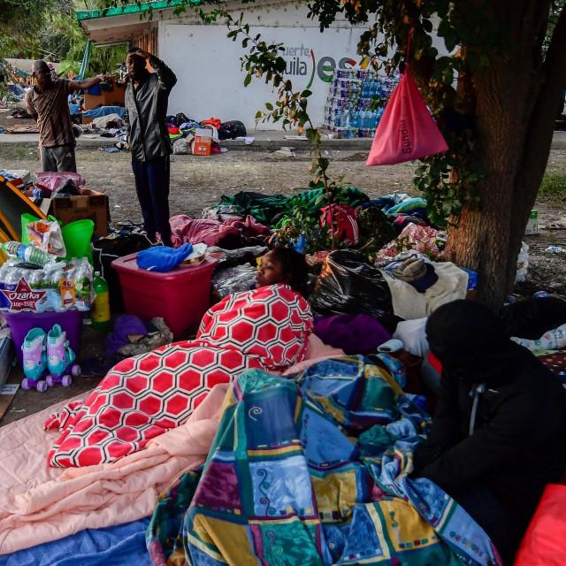 Haićanski migranti