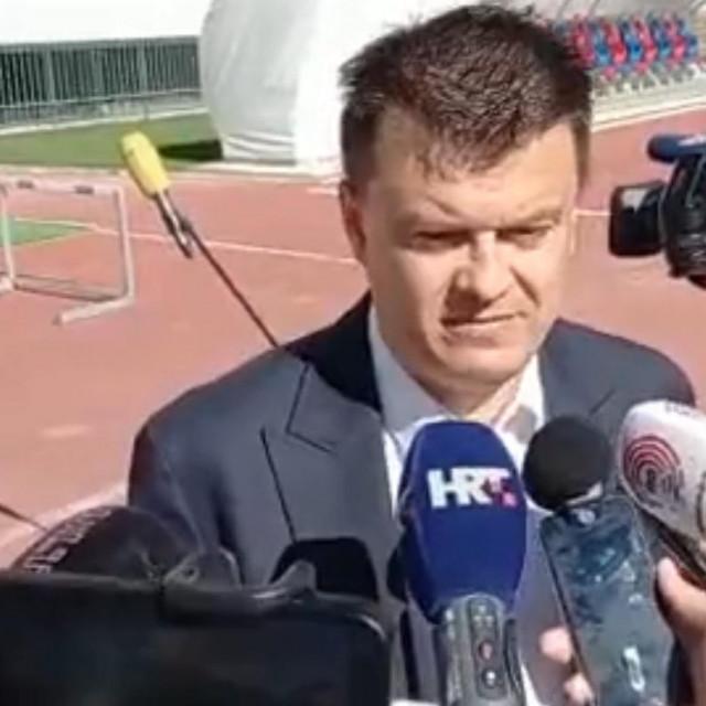 Sportski direktor Hajduka <strong>Mindaugas Nikoličius</strong>