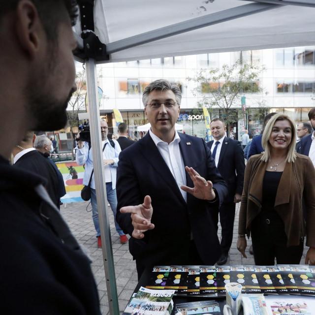 Andrej Plenković, Nikolina Brnjac, Tomislav Ćorić