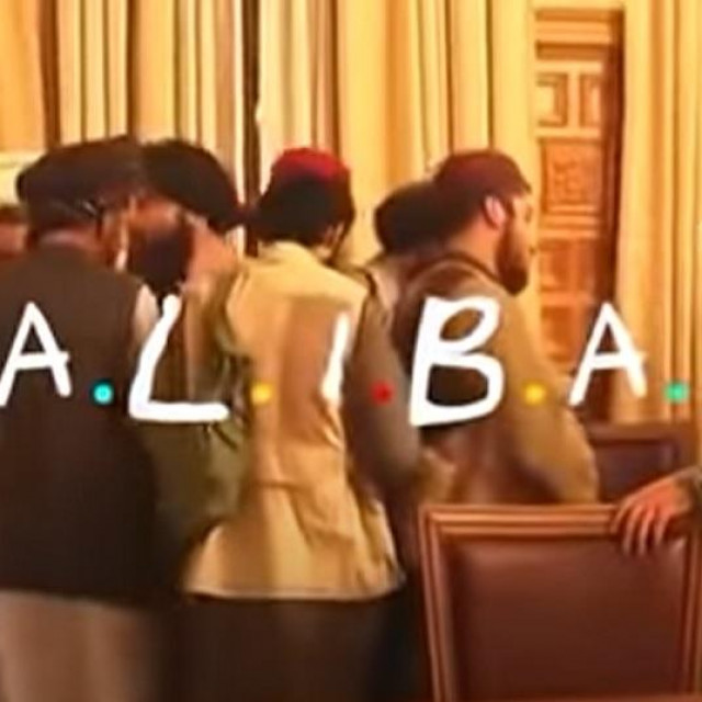 Video talibana na temu Prijatelja