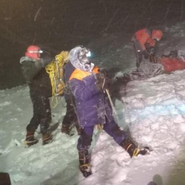 Spasilačka operacija na planini Elbrus