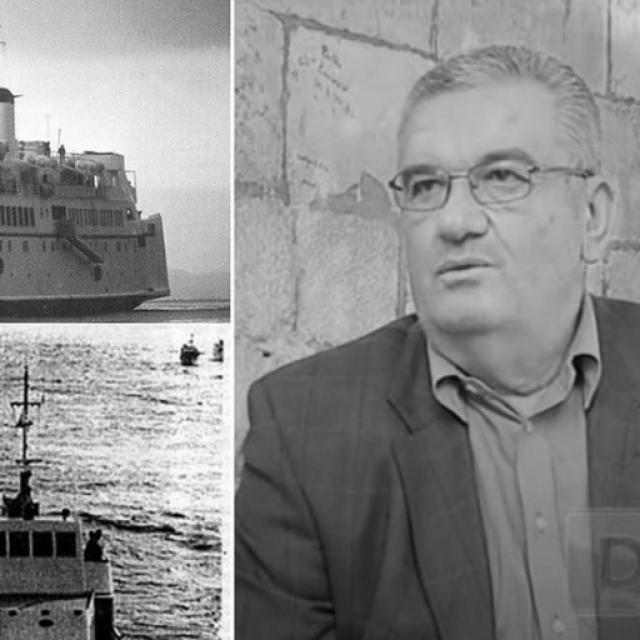 Brod Slavija/kapetan Damir Jovičević