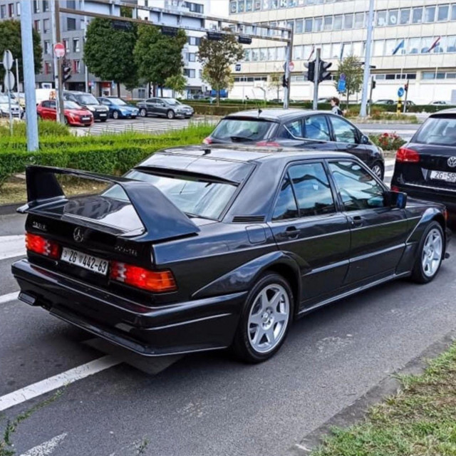 Mercedes 190E 2.5-15 EVO II