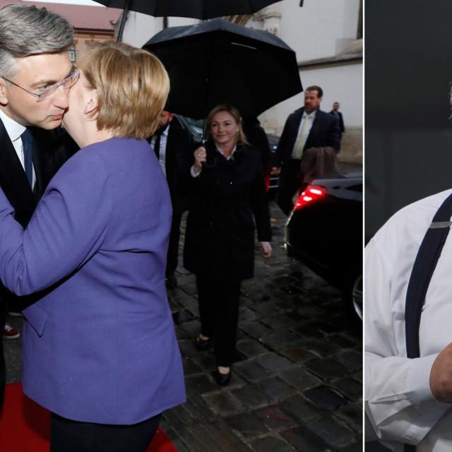 Angela Merkel i Andrej Plenković/Željko Trkanjec
