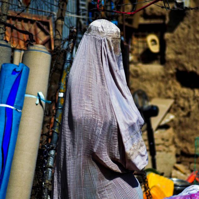 Ilustracija / Žena u Afganistanu