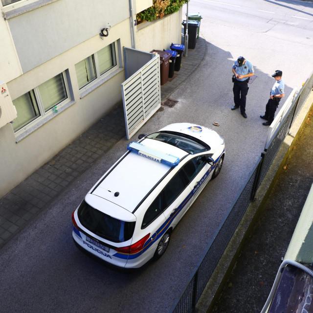 Mjesto zločina u zagrebačkim Mlinovima