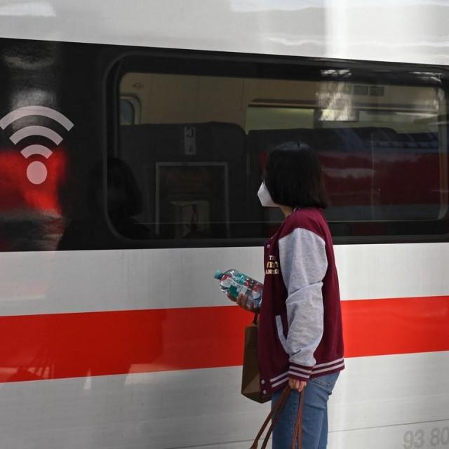 Ilustracija/Vlak u Njemačkoj