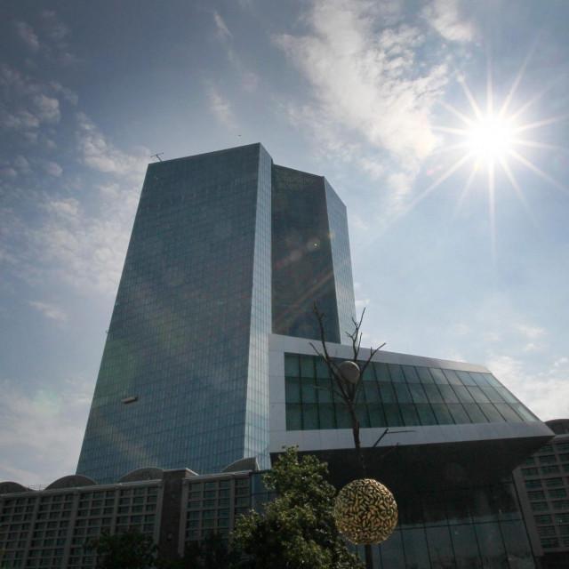 Zgrada ECB-a u Frankfurtu