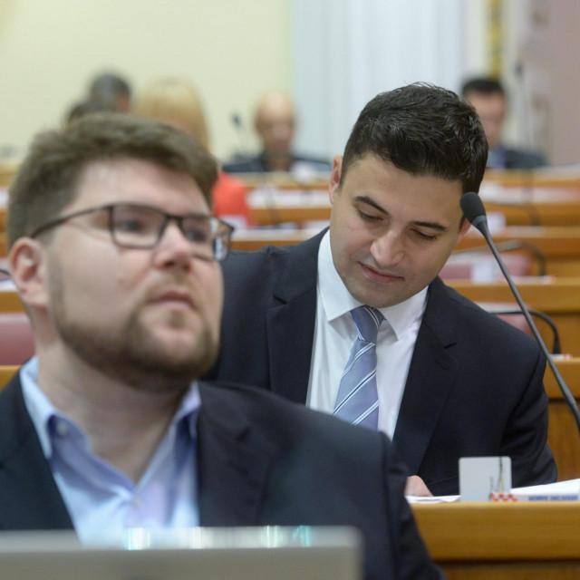 Davor Bernardić i Peđa Grbin