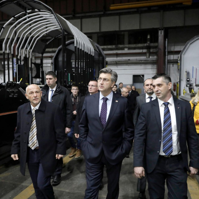 Plenković posjetio tvrtku Đuro Đaković, arhivska fotografija