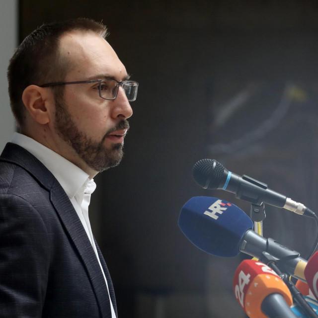 Gradonačelnik Zagreba Tomislav Tomašević