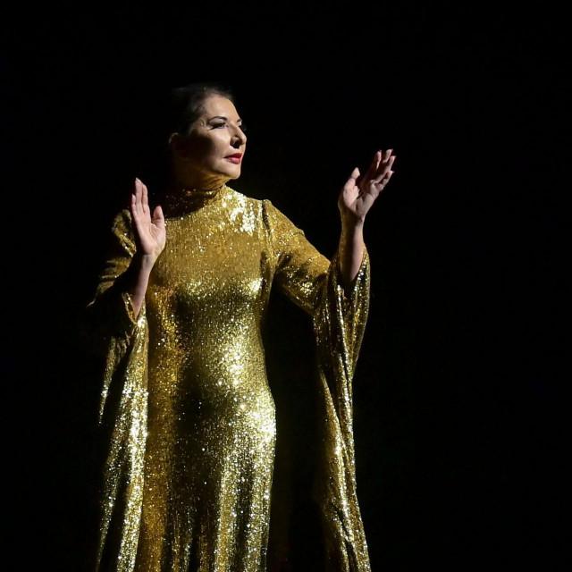 """Marina Abramović u svojoj novoj predstavi """"Sedam smrti Marije Callas"""""""