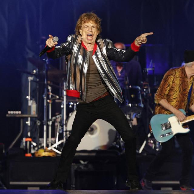 "Pjevač Mick Jagger i basist Keith Richards na turneji Rolling Stonesa ""No Filter"""