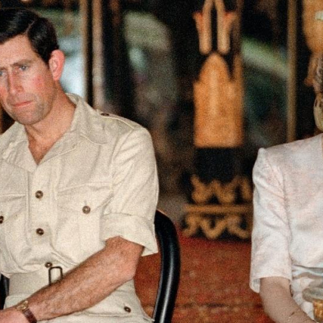Princ Charles i princeza Diana