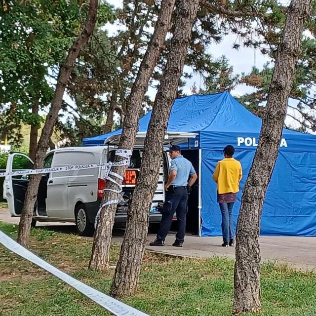 Mjesto gdje je pronađeno tijelo muškarca