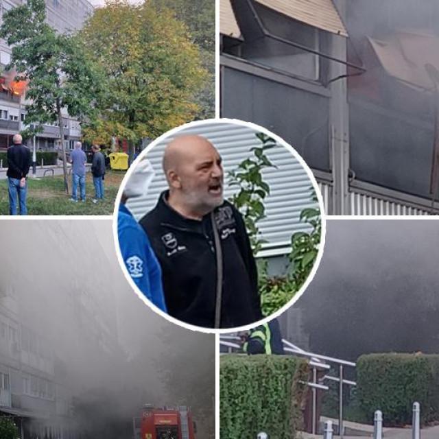 Požar u Zapruđu, u krugu: Dalibor K.