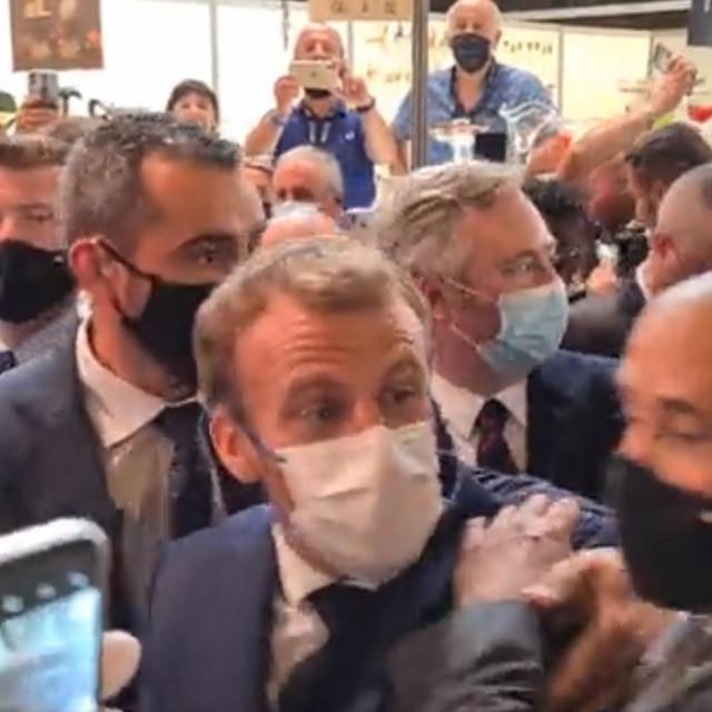 Emmanuel Macron u Lyonu