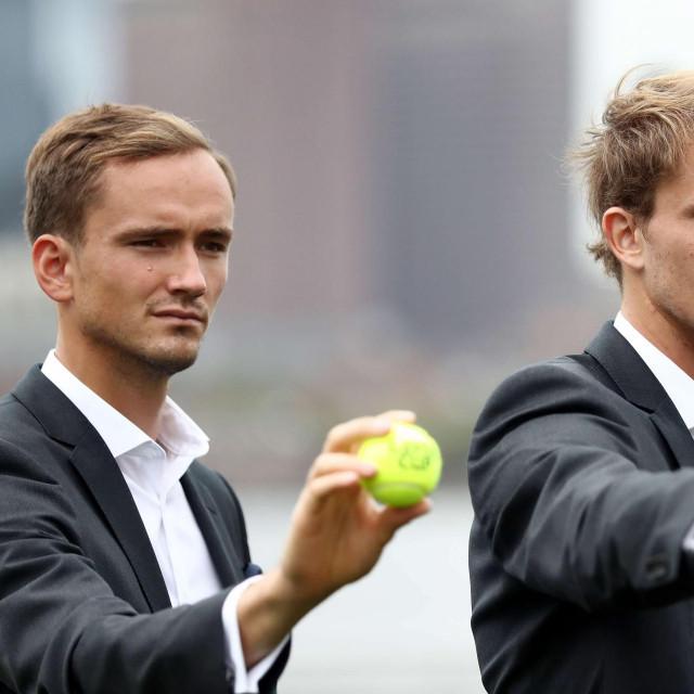 Danil Medvedev i Alexander Zverev