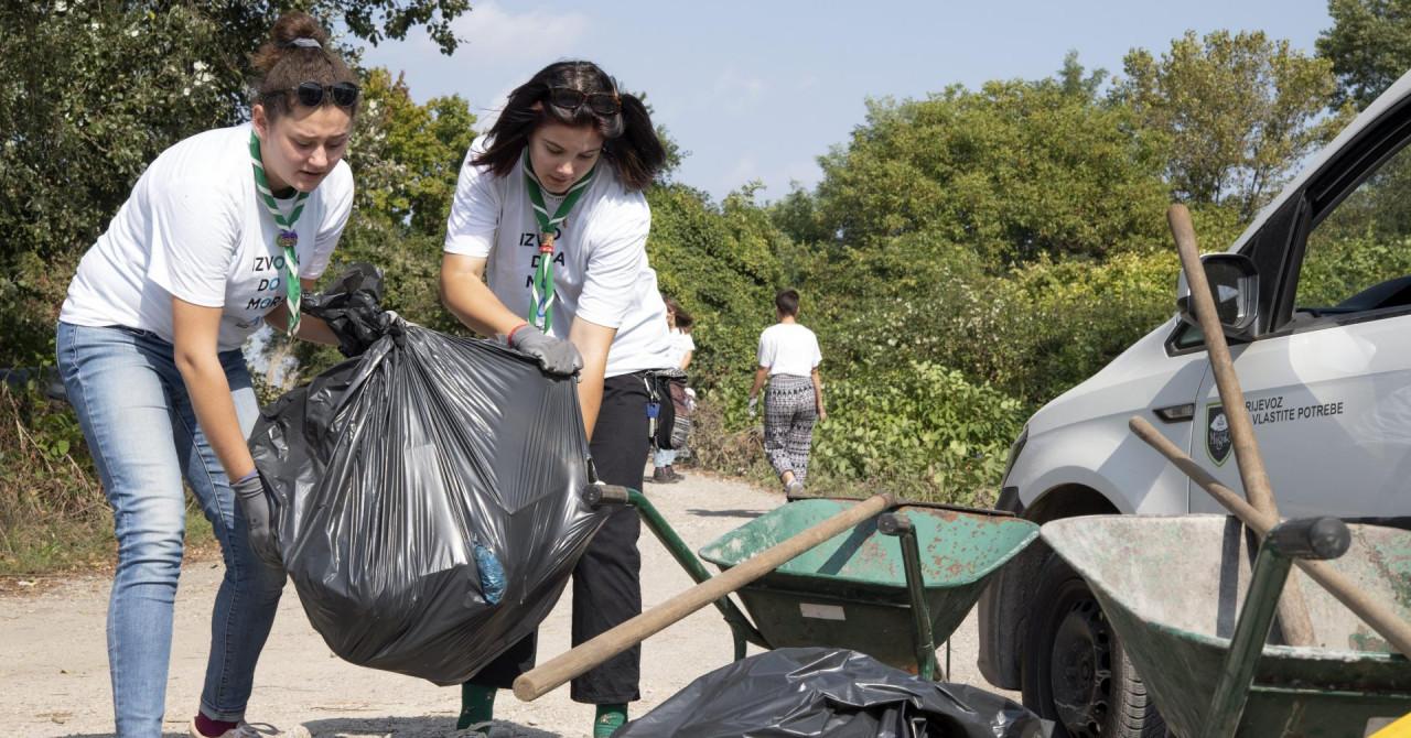 U akciji Coca-Cole i Jutarnjeg prikupljeno je više od tone otpada
