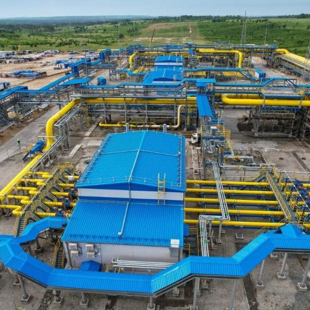 Gazpromovo postrojenje za preradu plina/Ilustracija