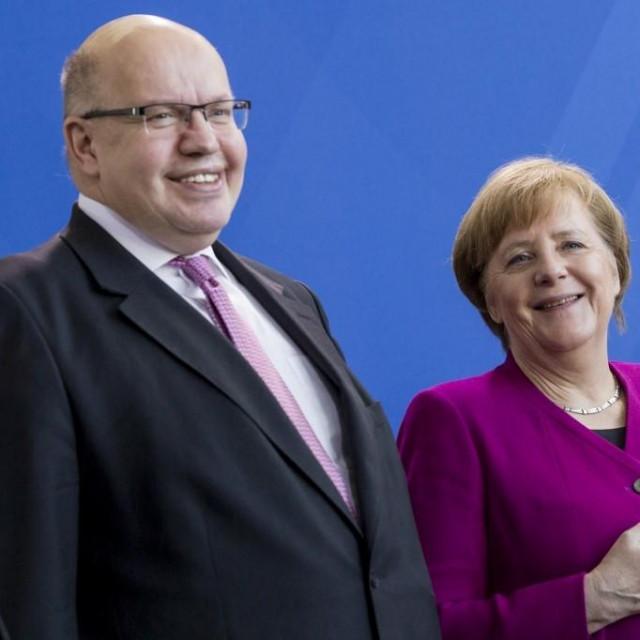 Peter Altmeier i Angela Merkel