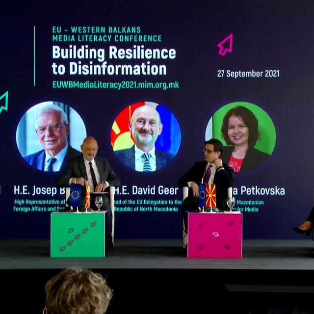 Konferencija EU-Zapadni Balkan o kampanjama dezinformacija