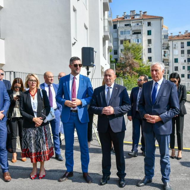 Mato Franković, Tomo Medved, Nikola Dobroslavić